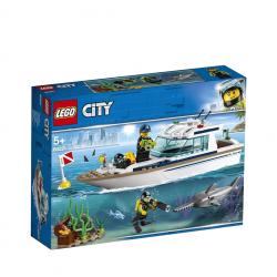 Lego City - Le yacht de...